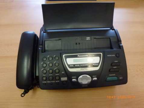 Telefon/fax Panasonic KX-FT78